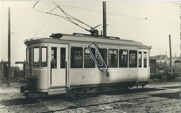 Oostende - Blankenberge : TRAM 9470 Motrice Vypo OB     ** Foto Van Oude Cliché (14.5 X 9 Cm) - Orte