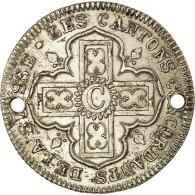 Monnaie, SWISS CANTONS, VAUD, 5 Batzen, 1827, TTB+, Argent, KM:21.2 - Suisse