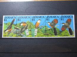 VEND BEAUX TIMBRES DE LA JAMAIQUE N° 563 - 567 , XX !!! - Jamaica (1962-...)