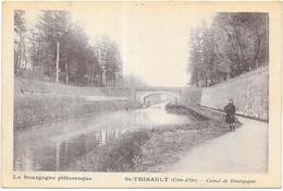 ST THIBAULT: CANAL DE BOURGOGNE - France