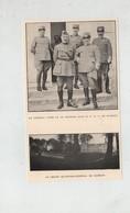 Foch Diaz GQG Bombon Grand Quartier Général - 1914-18