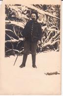 CARTE PHOTO DE CHASSEUR ALPIN - Regiments