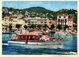 X06053 GOLF JUAN Départ JUAN-Les-PINS Vers îles LERINS Vedetes Cap D' ANTIBES 1980s - CIM 155 06-Alpes Maritimes - Antibes