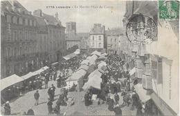 LANNION: LE MARCHE PLACE DU CENTRE - Lannion