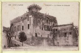 X06134 CAGNES Château GRIMALDI 1922 à RIVIEYRAND Moulin Bourrerie Brens Gaillac-LE DELEY 428- Alpes-Maritimes - Cagnes-sur-Mer