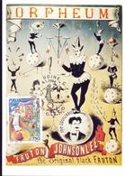 CIRCO ORPHEUM  UDINE   FDC  1994 MAXIMUM POST CARD (GENN200073) - Costumi