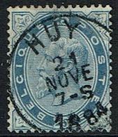 40  Obl  Centrale Huy  Déchirure  TB De Face  45 - 1883 Leopoldo II