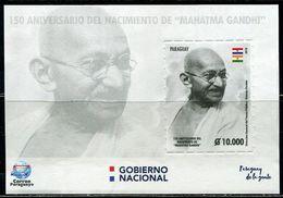 XC1292 Paraguay 2019 Global Union Mahatma Gandhi S/S MNH - Paraguay