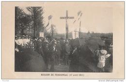 M8- 47) FERRENSAC  (LOT ET GARONNE)  MISSION DE FERRENSAC  (17 AVRIL 1911)  - (TRES ANIMÉE - N°1 -  2 SCANS) - France