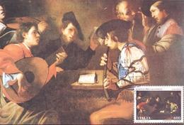 BARTOLOMEO MANFREDI FIRENZE  IL CONCERTO 1993 MAXIMUM POST CARD (GENN200079) - Cartes-Maximum (CM)
