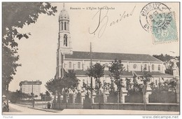 OP3- 64)  BIARRITZ  - L'EGLISE SAINT CHARLES - (ANIMÉE) - Biarritz