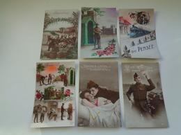 Beau Lot De 20 Cartes Postales De Fantaisie Soldats Soldat  Mooi Lot Van 20 Postkaarten Fantasie Leger Soldaten Soldaat - Postcards