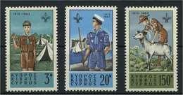 ZYPERN 1963 Nr 220-222 Postfrisch (119062) - Zypern