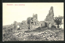 AK Gerolstein, Ruine Loewenburg - Gerolstein
