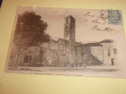 Cpa Herault   Lamalou   Environs  Ancienne Eglise De Villemagne - Lamalou Les Bains
