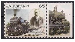 Austria Österreich 2011 - The 150th Anniversary Of The Birth Of Karl Gölsdorf Mnh - Modernos