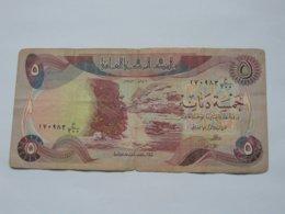 5 Five Dinars 1980-1982 - IRAQ- Central Bank Of Irak **** EN ACHAT IMMEDIAT **** - Iraq