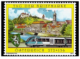 Austria Österreich 2011 - Stamp Day Railway Mnh - Modernos