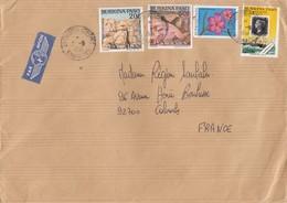 LETTRE BURKINA FASO. POUR LA FRANCE. 670F - Burkina Faso (1984-...)