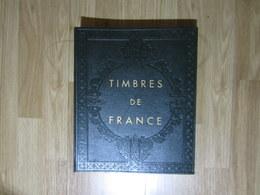 VEND ALBUM AVEC FEUILLES YVERT & TELLIER , 1849 - 1969 + FIN DE CATALOGUE , VERT , NEUF !!! - Albums & Binders