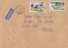 LETTRE GABON. POUR LA FRANCE.850F - Gabon (1960-...)