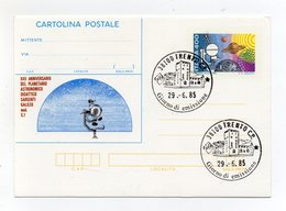 Italia - 1985 - Pescara -Cartolina Postale  XXV° Anniversario Del Planetario Astronomico Didattico Sargenti G (FDC19236) - 6. 1946-.. Repubblica