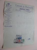 Centrale De PARFUMERIE ( Raepsaet Frères / Parfum Jean Baume ) LA LOUVIERE - Anno 1946 ( Zie/Voir Foto ) Taxe ! - Profumeria & Drogheria