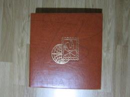 VEND ALBUM AVEC FEUILLES , 1970 - 1995 , MARRON !!! - Binders With Pages