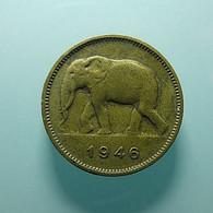 Belgian Congo 2 Francs 1946 - 1945-1951: Regencia