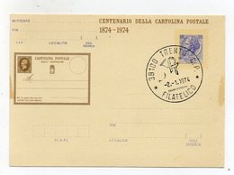 Italia - Repubblica - Centenario Della Cartolina Postale - Con Annullo Filatelico Trento - (FDC19238) - 6. 1946-.. Repubblica