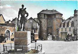 MARVEJOLS - Statue Henri IV - Porte Soubeyran - Marvejols