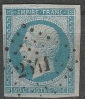 Petits Chiffres - BASSES ALPES - REILLANNE - PC 2641 - 1849-1876: Période Classique