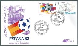B6906 Spain FDC Sport Football World Cup 1982 - Coppa Del Mondo
