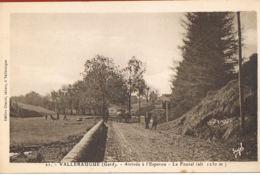 VALLERAUGUE  - Gard- Arrivée à L'Esperou-Le Fouzal (alt 1230 M) -cpsm- Sépia -scans Recto Verso- Paypal Sans Frais - Valleraugue