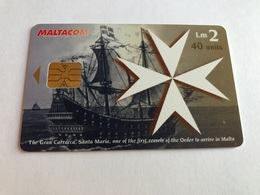 Malta - Phonecard With Chip - Malta