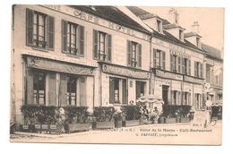 Trilport - Hotel De La Marne - Parfait , Proprietaire -  CPA -  ° - Frankrijk