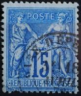 -Sage N°90 Type Ll.( CAD )   O GARE D'EPERNAY - 1876-1898 Sage (Type II)