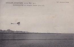 CHALON SUR SAONE 71 CHALON AVIATION 1911 KIMMERLINGSUR MONOPLAN SOMMER BELLE CARTE TRES RARE - Chalon Sur Saone