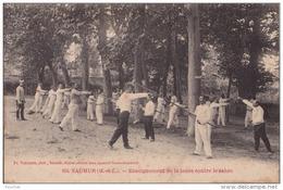 F4- 49) SAUMUR (MAINE ET LOIRE)  ENSEIGNEMENT DE LA LANCE CONTRE LE SABRE  - (TRES ANIMÉE - 2 SCANS) - Saumur