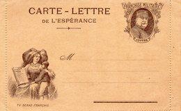 """CL De L'Espérance - """" Tu Seras Français  """"- ( ES  4) - Marcophilie (Lettres)"""