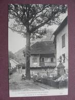 CPA 39 BRACON  Prés Salins Les Bains Chene Commémoratif Et Fontaine Avec LAVANDIERES Précurseur Avant1905 Canton ARBOIS - France