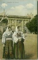 CROATIA - ZARA / ZADAR - CONTADINE DEI DINTORNI - EDIT. A. GILARDI & FIGLIO - 1910s  (6934) - Kroatië