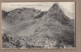 CPA 05 - PALLONS - Village De Pallons Et Entrée De La Vallée De Freissinières - Vue Générale En Bas à Droite - Francia