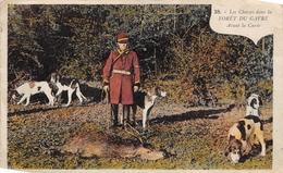 ¤¤  -   Les Chasses Dans La Forêt Du GAVRE  -  Avant La Curée   -  Chiens , Chasse à Courre    -   ¤¤ - Le Gavre