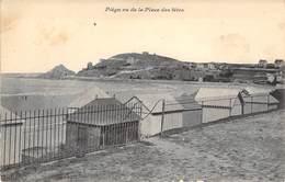 """CPA FRANCE 22 """"Le Val André, Piégu Vu De La Place Des Fêtes"""" - Frankrijk"""