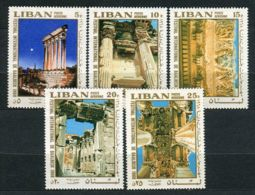 LIBAN ( AERIEN ) : Y&T  N°  468/472  TIMBRES  NEUFS  SANS  TRACE  DE  CHARNIERE , A  VOIR . - Lebanon