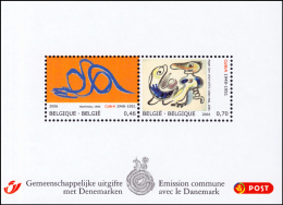 Belgium BL 135**  Emission Commune Avec Le Danemark  MNH - Blocks & Sheetlets 1962-....