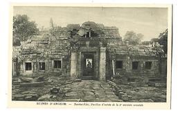 CAMBODGE---RUINES D'ANGKOR--bantéai-kdei, Pavillon D'entrée De La 2è Enceinte Orientale---voir 2 Scans - Kambodscha