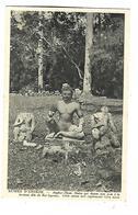 CAMBODGE---RUINES D'ANGKOR--Angkor-thom Statue Qui Donne Son Non à La Terrasse Dite Du Roi Lepreux---voir 2 Scans - Kambodscha