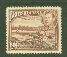 British Guiana: 1938/52   KGVI   SG315   60c      Used - Guyane Britannique (...-1966)